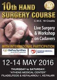 10th Hand Surgery Course